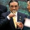 Zardari: Blessing future votebank?