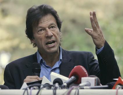 imran lead wideweb  470x3290 Imran's Patriotism is for Pakistan or Taliban?