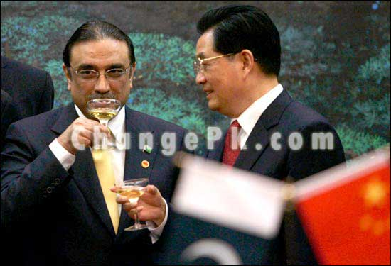 zardari high Zardari: Blessing future votebank?